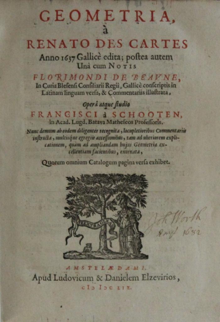 Descartes-vol.-1-title-page