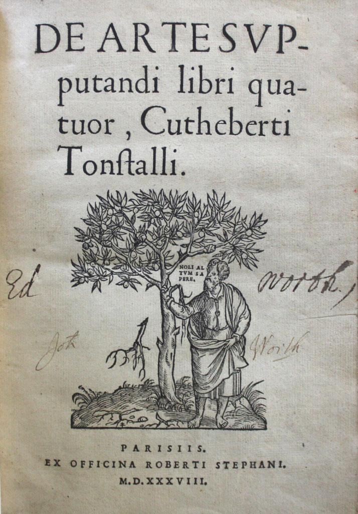 Tunstall-title-page